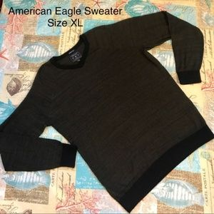 Men American Eagle Green Seriously Soft Sweater XL